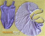 Light purple ballet leotard and skirt