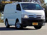 2011 Toyota Hiace LWB TRH201R MY11 Van