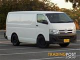 2012 Toyota Hiace LWB KDH201R MY11 Van