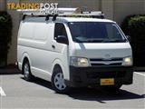 2010 Toyota Hiace LWB KDH201R MY10 Van
