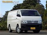 2013 Toyota Hiace LWB KDH201R MY12 Van