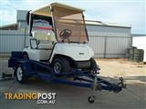 Yamaha Golf Buggy & Trailer