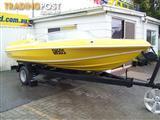 Panther Pride Ski Boat