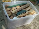 ODD PIECES OF HARDWOOD/SOFTWOOD OFF CUTS