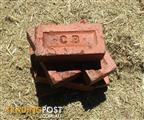 VINTAGE ORIGINAL CANBERRA CLAY BRICKS USED WASHED/CLEANED SEVEN