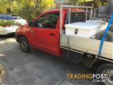 2011 TOYOTA HILUX WORKMATE TGN16R MY12 C/CHAS