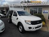 2012  Ford Ranger XL PX Cab Chassis tipper