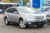 2010 Subaru Outback 2.5i Lineartronic AWD B5A MY11 Wagon