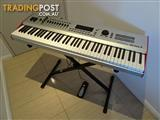 Kurzweil Artis 7 stage piano / keyboard + stand, pedal and case
