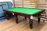 8ft Slate Crown Classic Pool Table (Factory Second Hand Table)