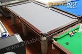 8 Foot Slate Robot Billiard Table (Floor table)