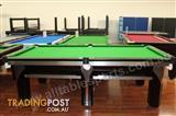 Special - 8 Foot Slate G3 Ultramodern Pool Table (Floor Green Table)