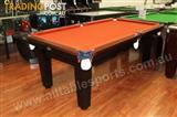 Special - 7 Foot Hilton (Paprika) Pool Table (Floor Table)