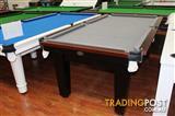 Floor Display 7ft Slate Hilton Square Pool Table on Special