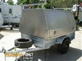 ALUMINIUM TRAILER TOP TO SUIT A 7 x 4 BOX TRAILER