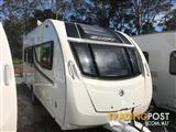 2014 SWIFT EXPLORER 524 SINGLE AXLE 17' INSULATED CARAVAN WITH FULL ENSUITE