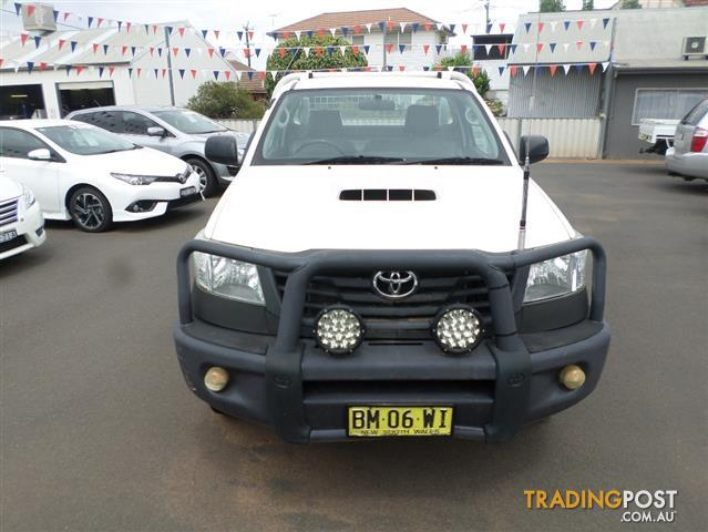 d2997c16816c34 2011 TOYOTA HILUX WORKMATE (4x4) KUN26R MY12 C CHAS for sale in ...