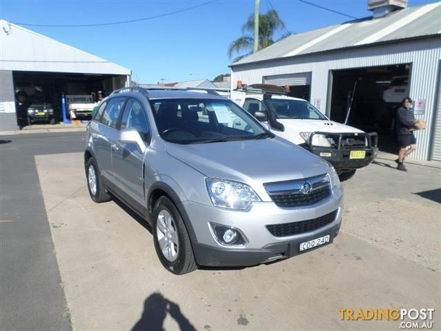 2011 HOLDEN CAPTIVA 5 (4x4) CG SERIES II 4D WAGON