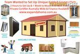 2 Hour Set Up Fully Insulated Fireproof Granny Flat Council Approval Finance Free Franchise