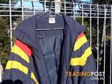 Official Adelaide Crows Supporter Jacket - Size XXL - Very Warm