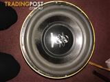 "Ground Zero Audio Plutonium SPL-Extreme 15"" Subwoofer (4 Total)"