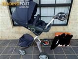 Stokke Xplory - With Carry-cot and Seat