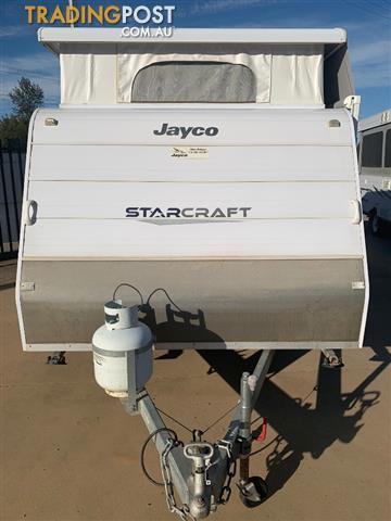 2012 Jayco Starcraft Pop Top 14ft