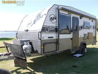 HUGE SAVINGS!!!!!  2018 Masterpiece XTM 17ft 10in Off-Road Single Axle Caravan.