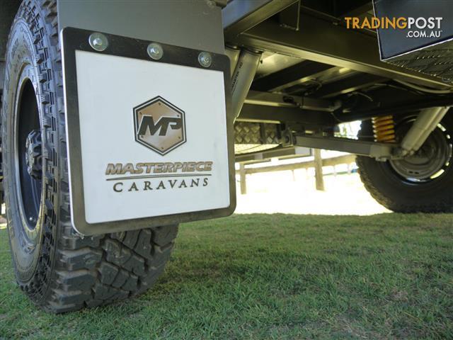 HUGE SAVINGS!!!!!  2018 Masterpiece XTM 17ft 10in Off-Road Single Axle Caravan.