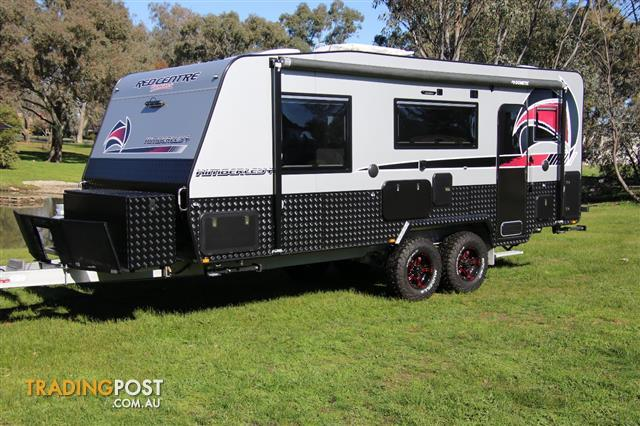 Red Centre 21' Kimberley Plus  Off-Road Caravan