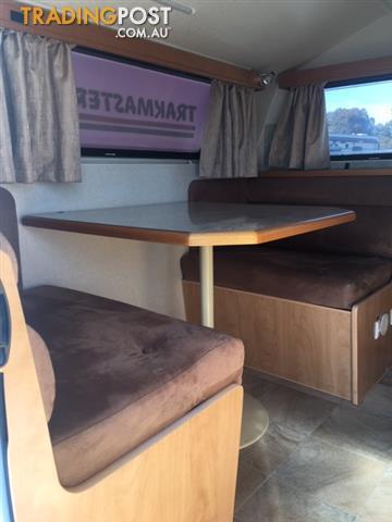 2012 Track Master Poptop OFF ROAD caravan 13'6