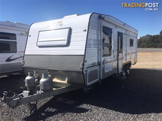 2010 BLUE SKY PREMIER MK III ON ROAD CARAVAN 23'6
