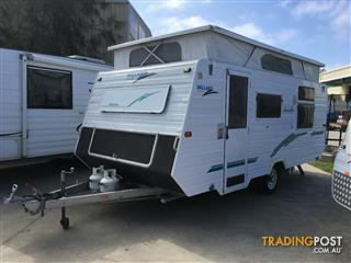 2005 Millard Horizon Pop Top (on road)