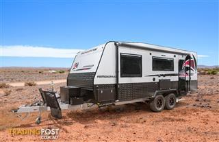 Red Centre 20'8 Kimberley  Caravan