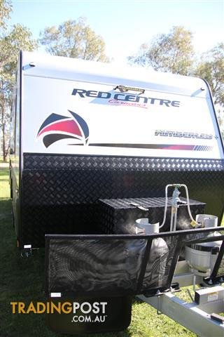 Red Centre Kimberley + 22'6 Family Off-Road Caravan