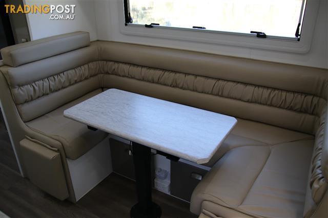Red Centre 21' Kimberley Plus  Off-Road Caravan CLUB LOUNGE