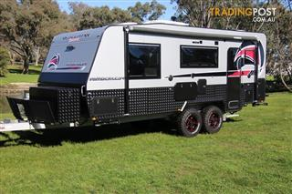 Red Centre 21' Kimberley Plus  Off-Road Caravan CLUB LOUNGE