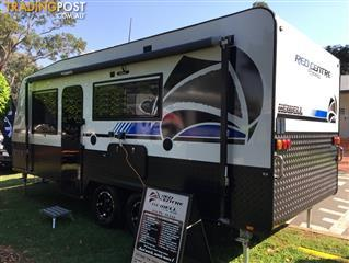 Red Centre Newell 19'6 Caravan (oro)