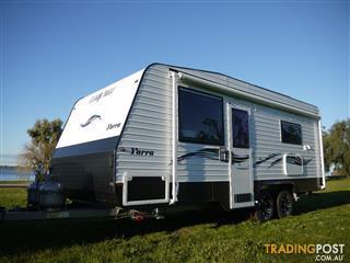 Silver Valley Yarra  19ft 6in Full Ensuite Caravan