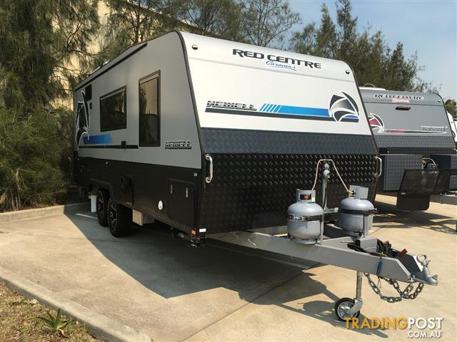 2019 Red Centre Newell 20' on road van
