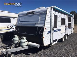 2007 Evernew Caravan 21'6 On Road