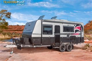 Red Centre Kimberley Plus 20'6 Off Road Caravan (centre door)