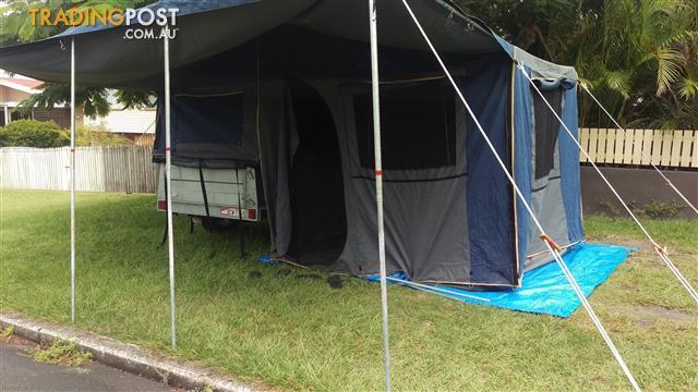 Camp trailer
