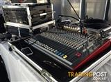 Professional sound system - mid size band suitable  or disco.