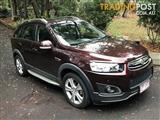 2014 HOLDEN CAPTIVA 7 LTZ (AWD) CG MY14 4D WAGON