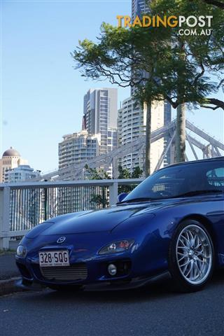 1999 MAZDA RX7 TWIN TURBO 2D COUPE