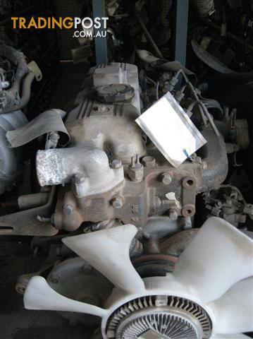 MAZDA E2200 82 MODEL S2 DIESEL ENGINE