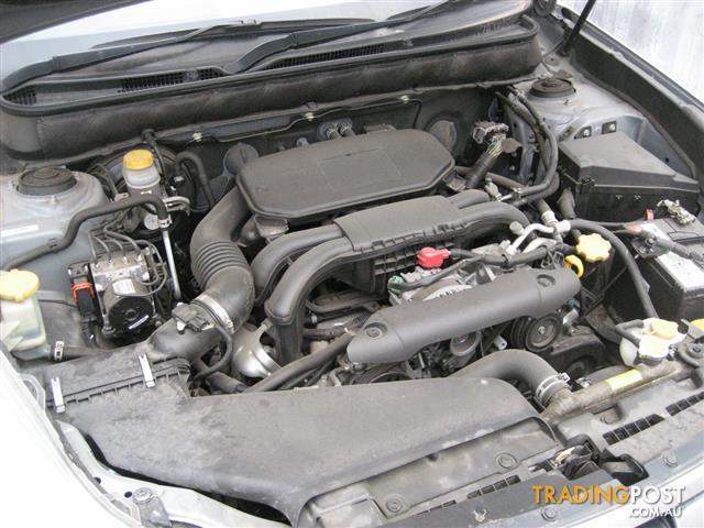 SUBARU LIBERTY BM 2010 EJ25 ENGINE (CAN HEAR RUNNING)