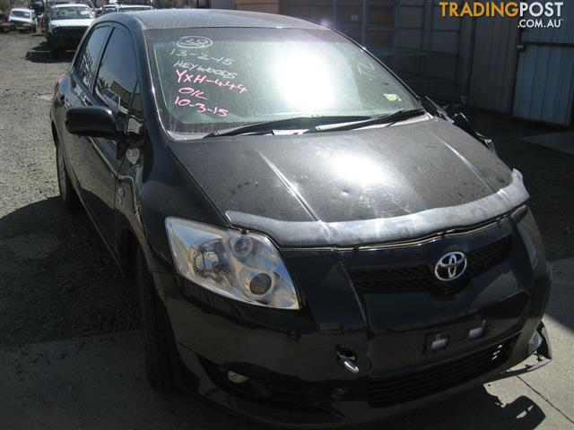 TOYOTA COROLLA ZRE 2008 HATCH FOR WRECKING