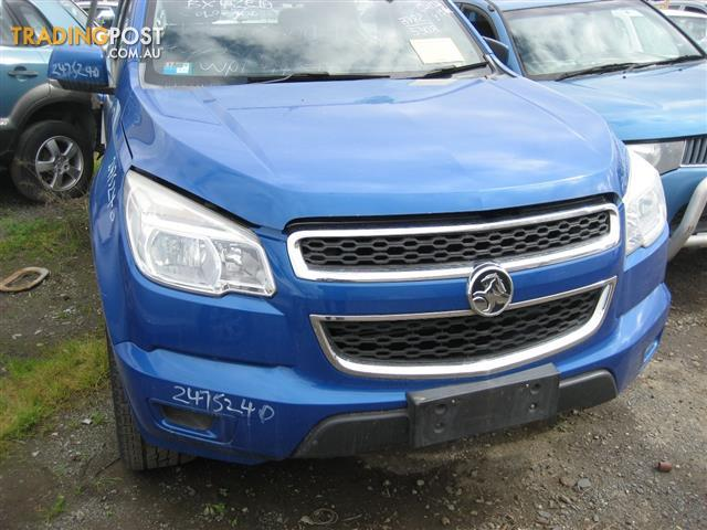 HOLDEN COLORADO 2013 RG FOR WRECKING (MANY PARTS ) CALL US